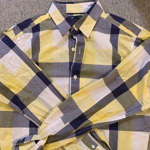 Long sleeve button-up shirt